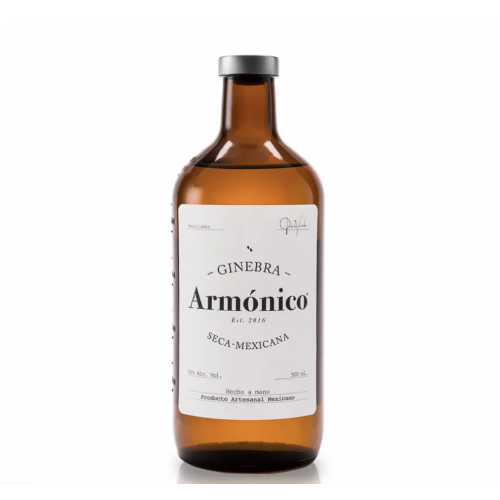 Armonico Gin Seco 50%  500ml bottle