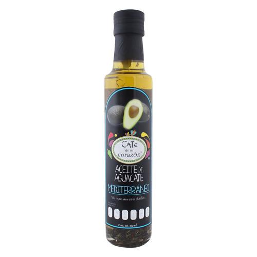 Cate De Mi Corazon Avocado Oil Mediterranean 250ml