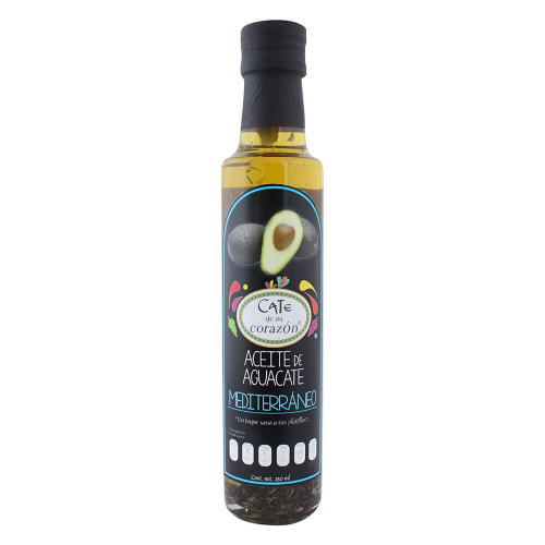 Cate De Mi Corazon Avocado Oil Mediterranean 250ml