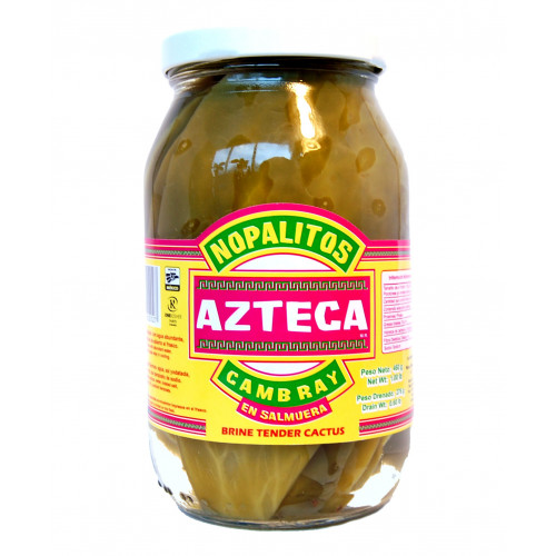 Azteca Cactus Leaves Whole 12x460g Case