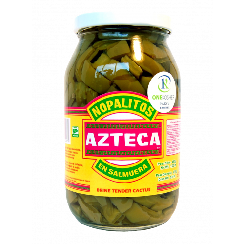 Azteca Cactus Leaves Strips 12x460g Case