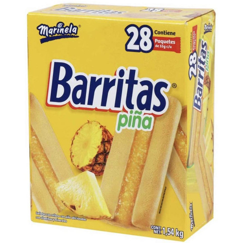 Marinela Pineapple Cookies 28 x 55g