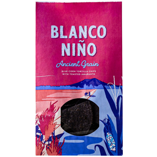 Blanco Nino Ancient Grain Blue Corn Tortilla Chips 12 x 170g