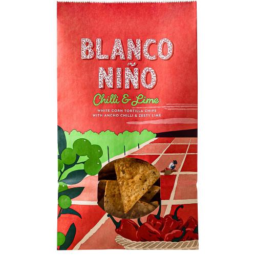 Blanco Nino Chilli & Lime White Corn Tortilla Chips 170g