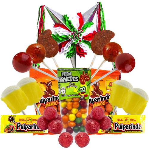 Image of sweets and pinata