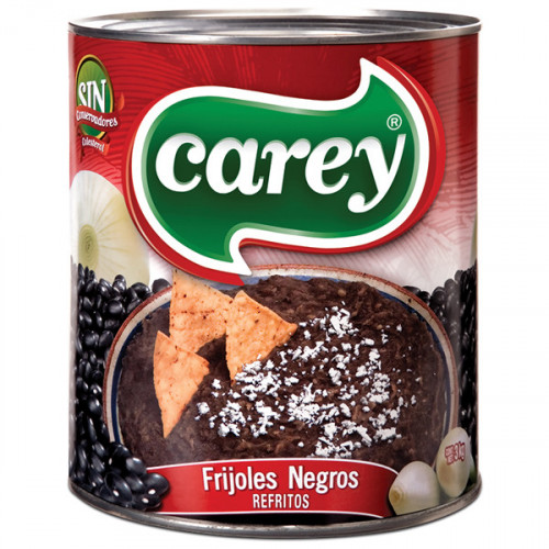 Carey Black Beans Refried 6x3kg Case