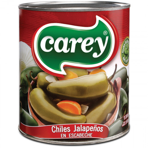 Carey Jalapeno Whole 6 x 2.8kg Case