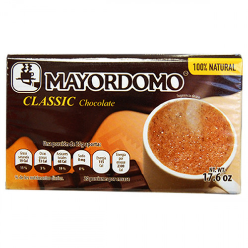 Mayordomo Chocolate 24x500g Case