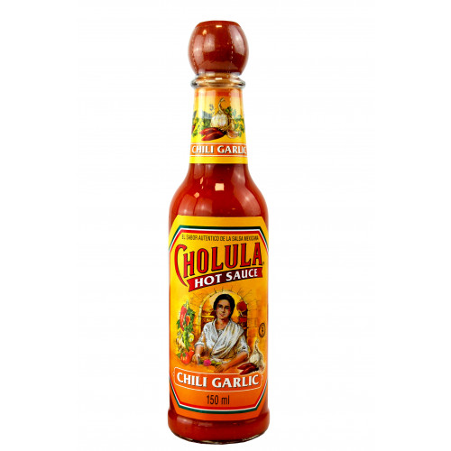 Cholula Garlic and Chilli Hot Sauce 12x150ml Case