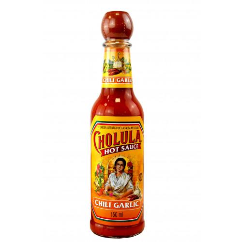 Cholula Garlic and Chili Hot Sauce 150ml