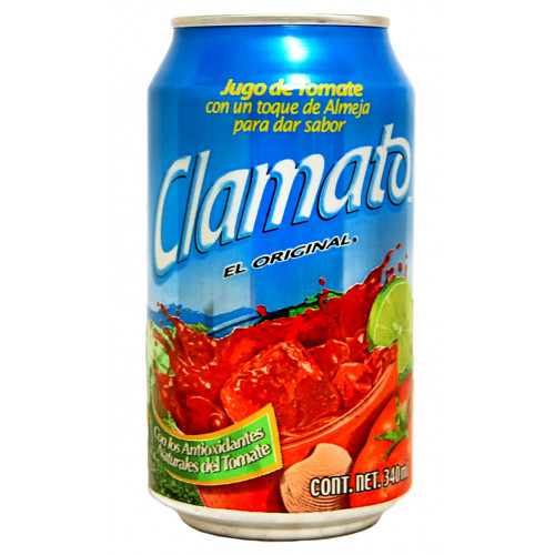 Clamato Can 12x355ml Case