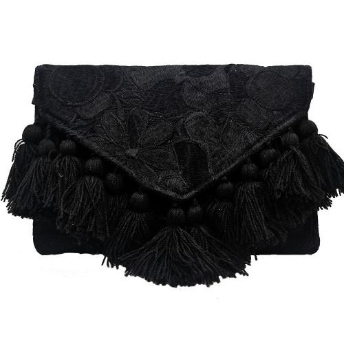 Clutch Tassels Bag