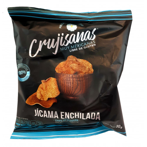 Crujisanas Jicama With Chilli Vegetable Chips 12 x 30g