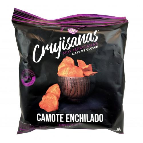 Crujisanas Sweet Potato With Chilli Vegetable Chips 12 x 30g
