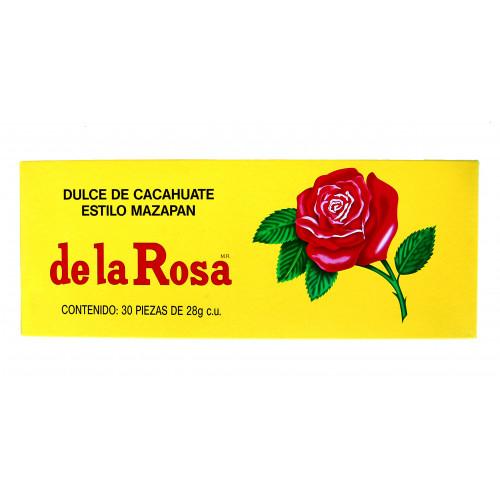 Mazapan De La Rosa Peanut Candy 30 x 28g Box