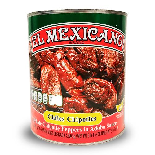 El Mexicano Chipotle in Adobo 2.8kg