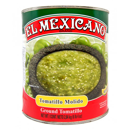 El Mexicano Tomatillo Crushed 6x2.84kg Case