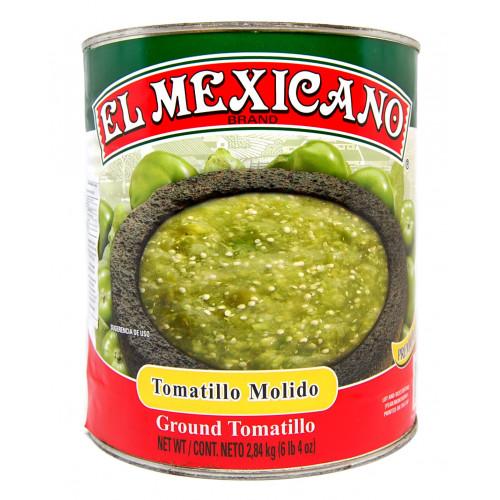 El Mexicano Tomatillo Crushed 6x2.84kg Case