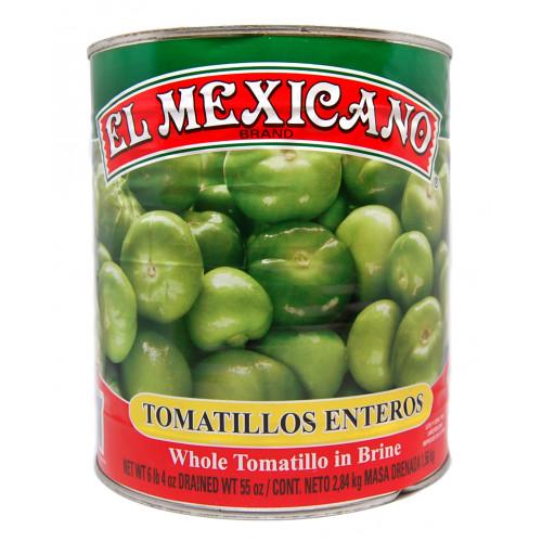 El Mexicano Tomatillo Whole 6x2.8kg Case