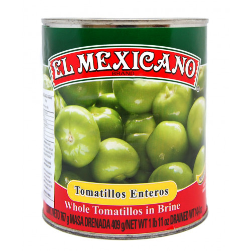 El Mexicano Tomatillo Whole 12x767g Case