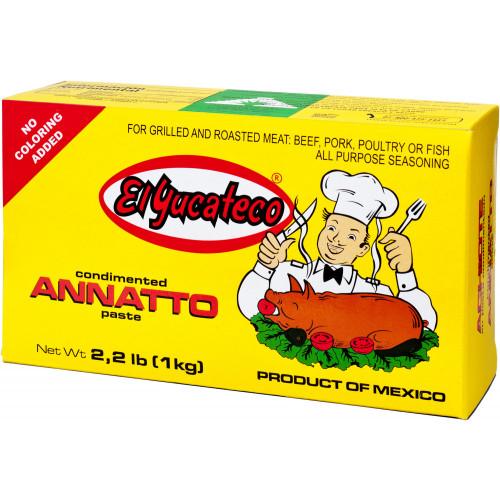 El Yucateco Achiote Paste 1kg