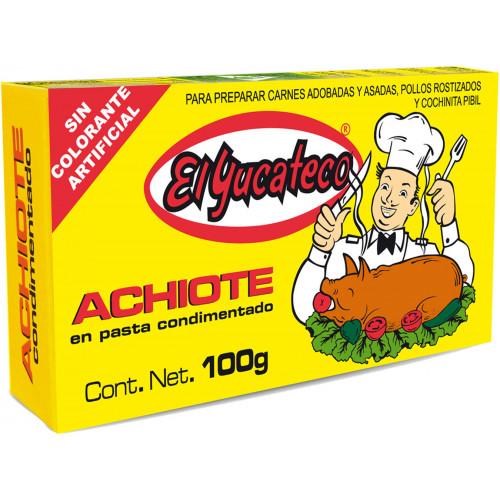 El Yucateco Achiote Paste 60x100g Case