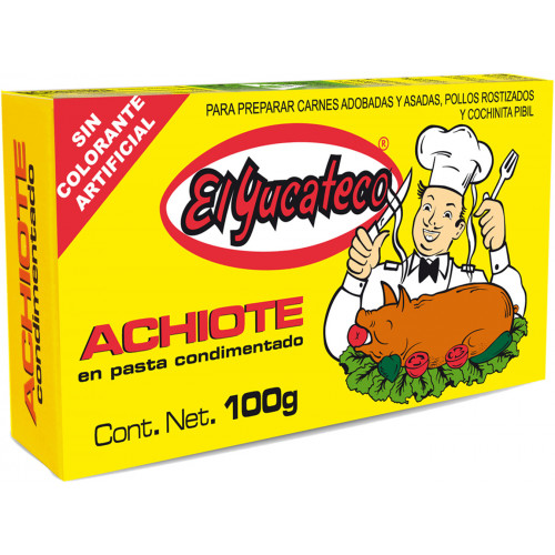 El Yucateco Achiote Paste 100g