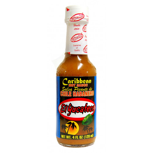 El Yucateco Caribbean Habanero 12x120ml Case