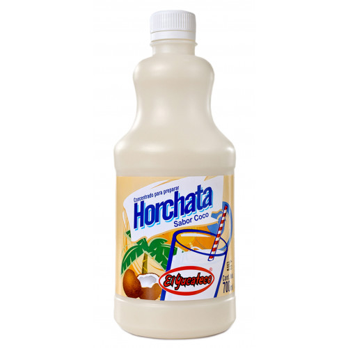 El Yucateco Horchata Coconut Concentrate 12x700ml Case