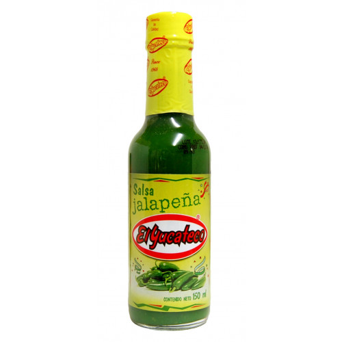 El Yucateco Jalapeno Sauce 12x150ml Case
