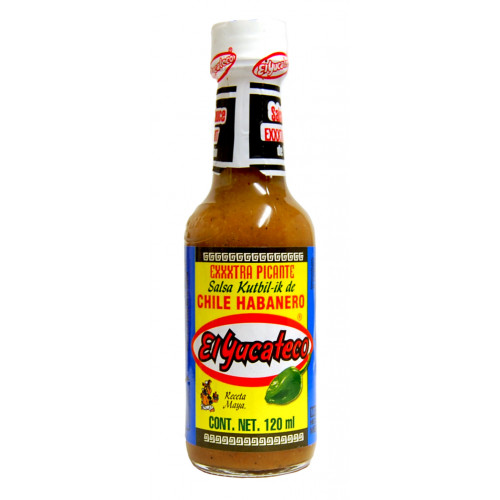 El Yucateco Habanero Hot 12x120ml Case