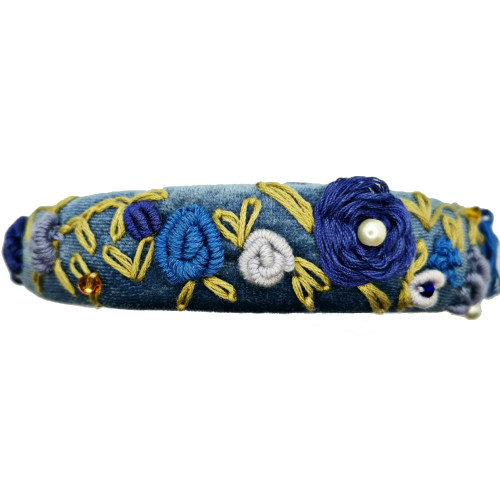 Frida Kahlo Blue Headband