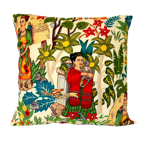 Frida Kahlo Garden Cushion