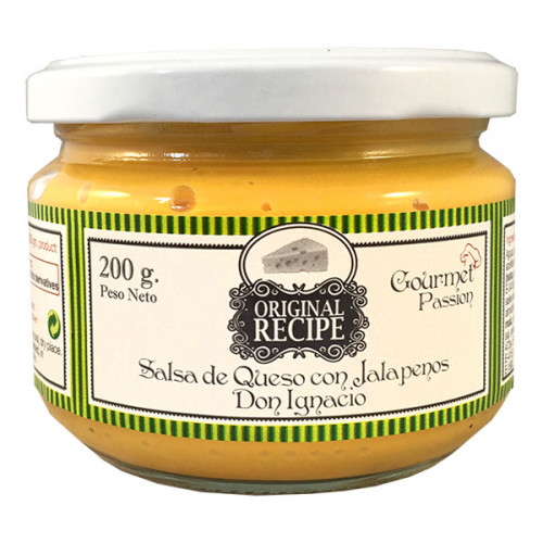 Original Recipe Cheese with Jalapeno 12x200ml Case