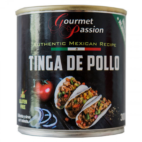 Gourmet Passion Tinga de Pollo 6x300g