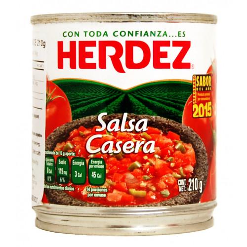Herdez Casera Salsa 210g