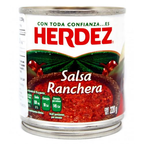 Herdez Ranchera Salsa Case 48x220g Case