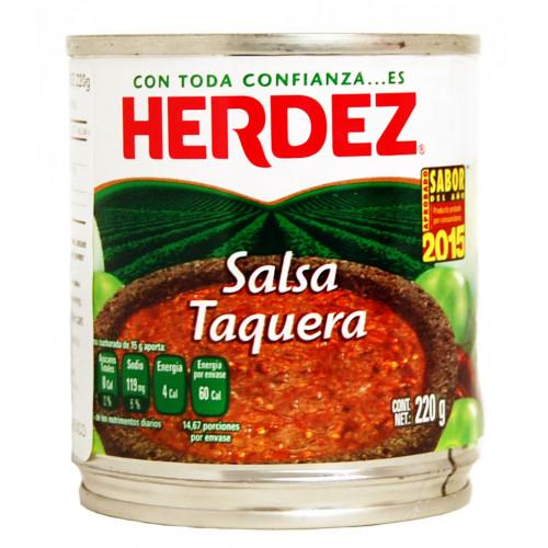 Herdez Taquera Salsa 48x220g Case