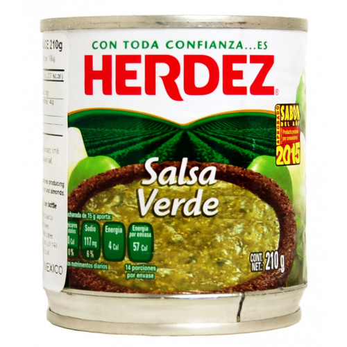 Herdez Salsa Verde 210g
