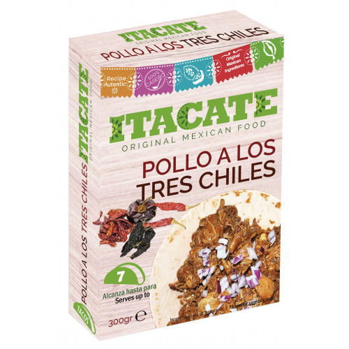 Itacate Pollo 3 Chiles 300g