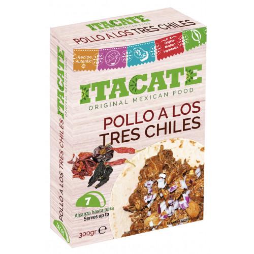 Itacate Pollo 3 Chiles 7x 300g