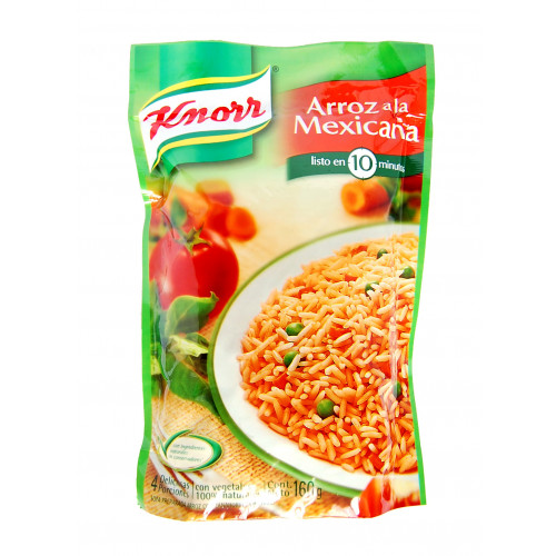 Knorr Mexican Style Rice 12x160g Case
