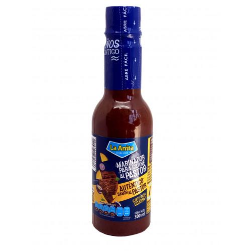 La Anita Marinade Pastor Sauce Bottle 12 x 300ml Case