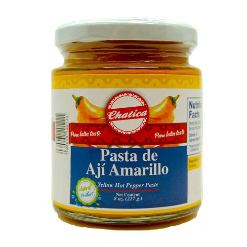 Chatica Pasta de Aji Amarillo 24 x 227g case