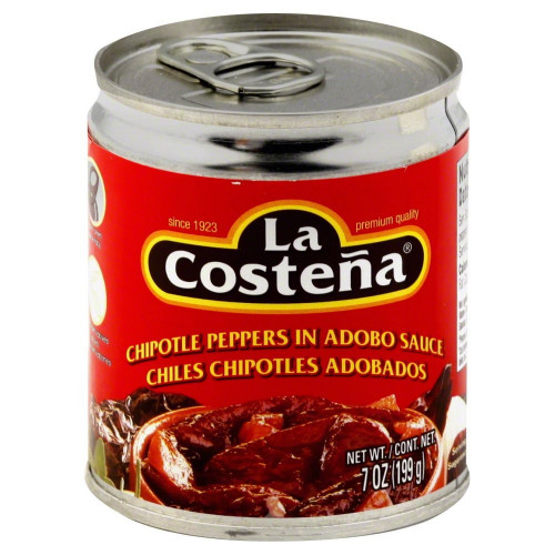 La Costena Chipotle in Adobo 24x210g Case