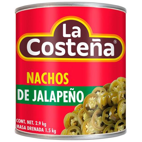 La Costena Jalapeno Nacho 2.8kg