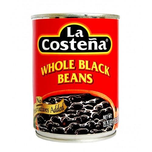 La Costena Black Whole Beans 560g