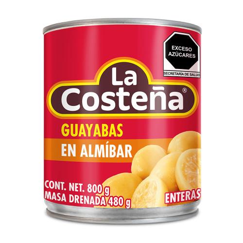 La Costena Guayabas Whole in Syrup 12 x 800g