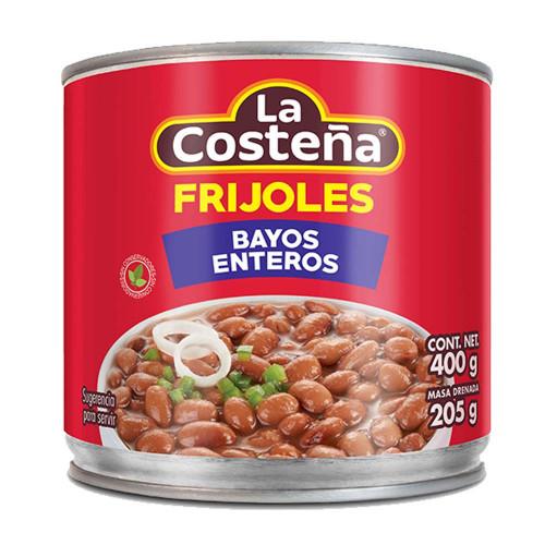La Costena Bayos Whole Beans 12 x 400g Case