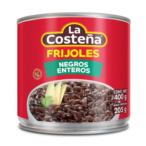La Costena Black Whole Beans 12 x 400g Case